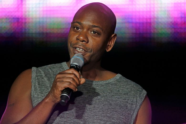 Comedian Dave Chappelle returns to Seattle for four shows over two nights. (AP Photo/Gerald Herbert, File)