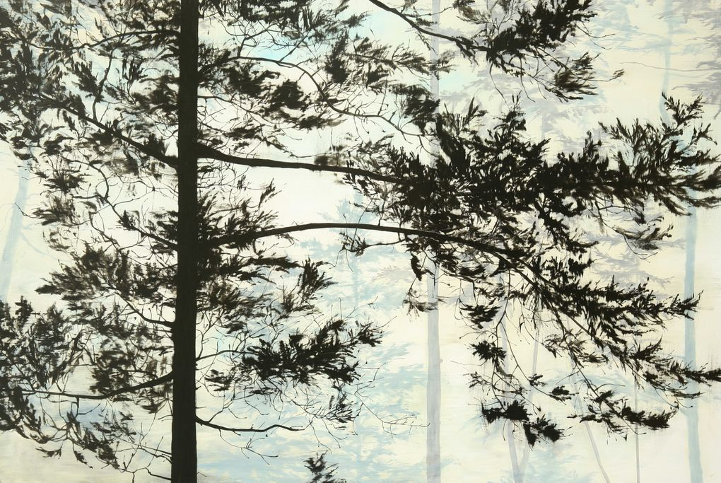 """""""Motherland,"""" by Seattle landscape artist Jared Rue. Woodside/Braseth Gallery will show Rue's work at the Seattle Art Fair."""