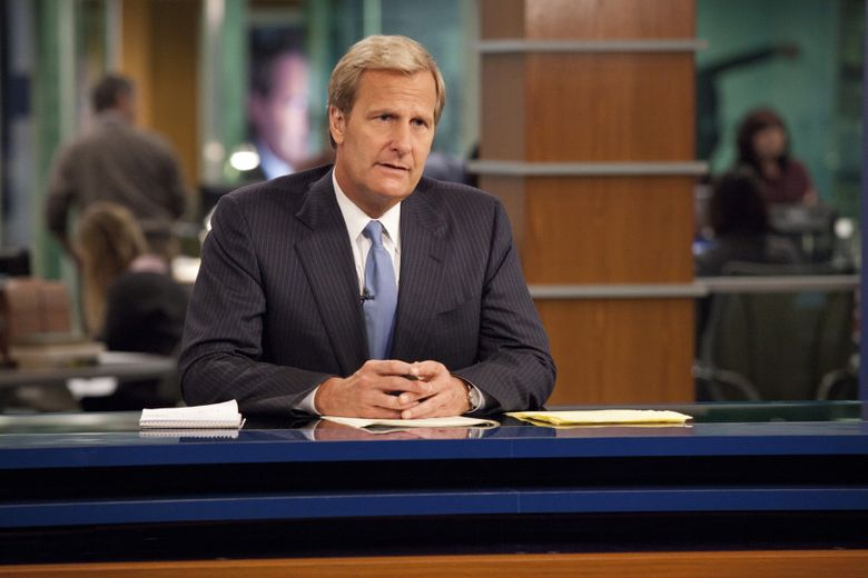 """""""The Newsroom,"""" starring Jeff Daniels, is now available on Amazon Prime.  (John P. Johnson/The Associated Press)"""