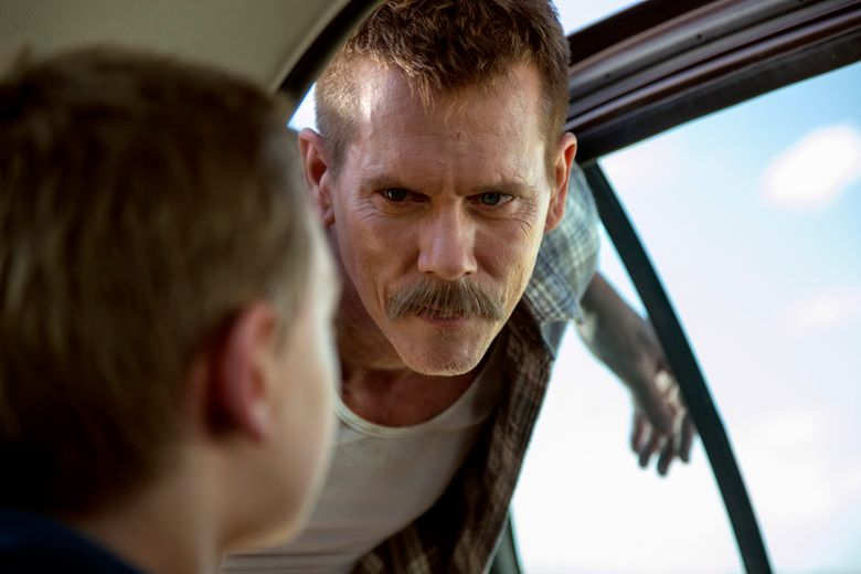 """Kevin Bacon portrays a villainous small-town sheriff seeking to recover his stolen vehicle from a pair of runaway boys in """"Cop Car."""""""