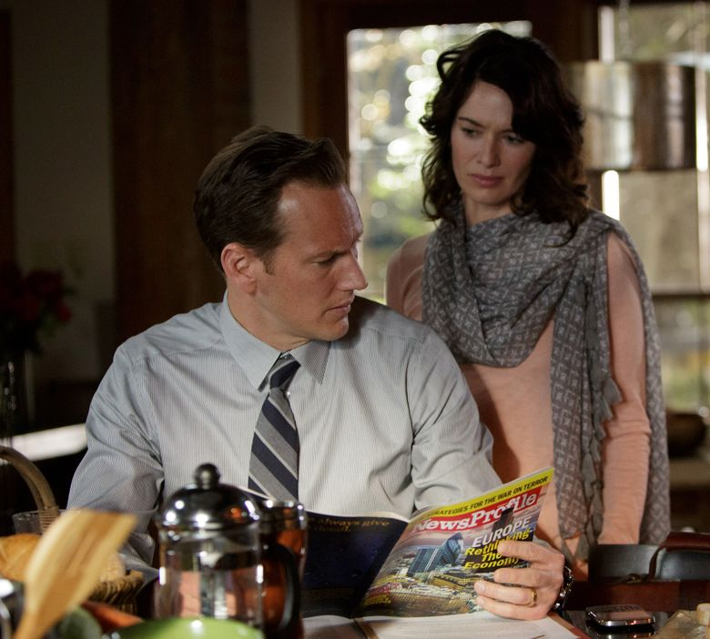 """Patrick Wilson and Lena Headey star as a married couple in the political thriller """"Zipper.""""  (Hilary Bronwyn Gayle – Still Pho/ 2014 ThirtyThree Pictures Pho)"""