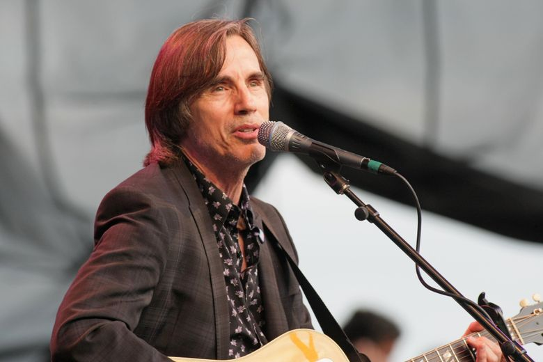 Jackson Browne returns to Chateau Ste. Michelle for the 2016 summer concert series at the winery. (Jim Bates / The Seattle Times)