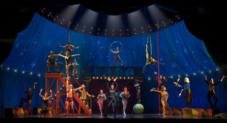 """The cast of """"Pippin."""""""