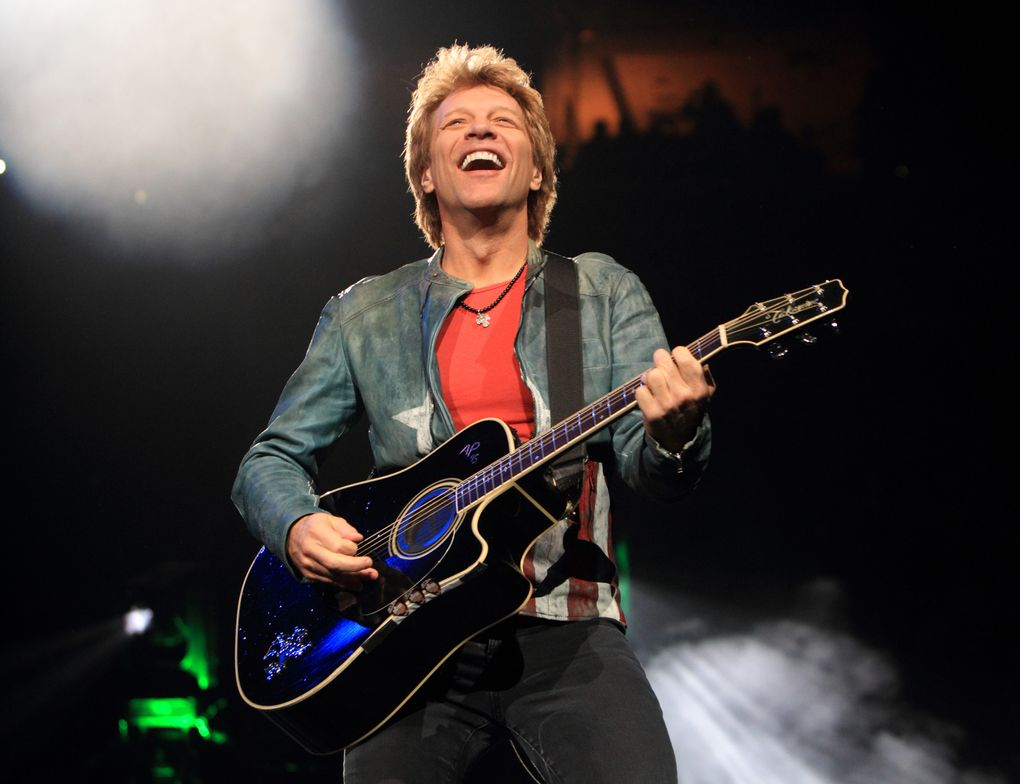 FILE – In this Nov. 5, 2013, file photo, Jon Bon Jovi performs in concert with his band Bon Jovi in Philadelphia. A Bon Jovi concert scheduled for Saturday, Aug. 22, 2015, in Vancouver, British Columbia, has been canceled after the city said the promoter had failed to obtain the required permits. (Photo by Owen Sweeney/Invision/AP, File)