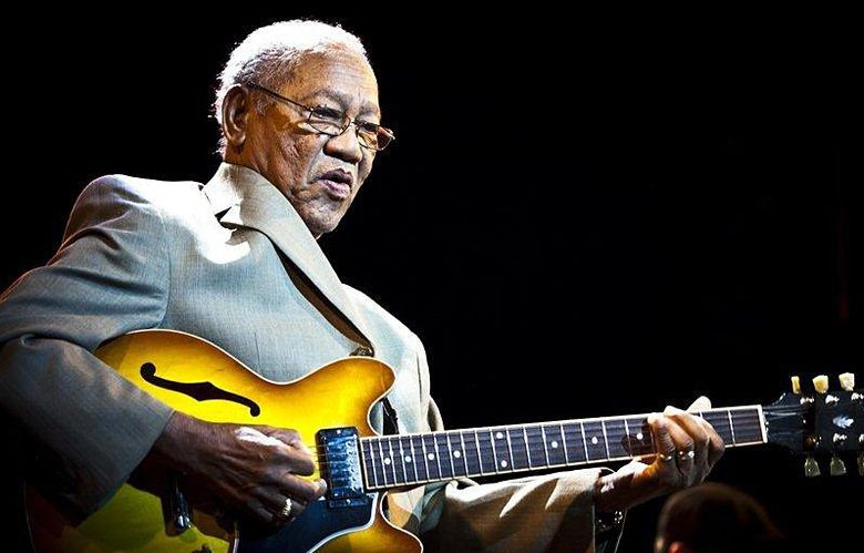 Ernest Ranglin performed at Nectar, in Seattle, Saturday, Aug. 1.