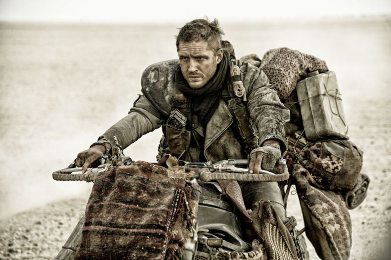 """Tom Hardy takes over the Mel Gibson role in """"Mad Max: Fury Road."""""""