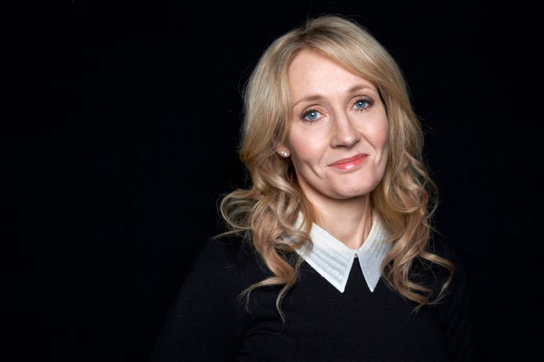 """FILE – This Oct. 16, 2012 file photo shows """"Harry Potter"""" novels author J.K. Rowling at an appearance at The David H. Koch Theater in New York. Rowling posted new information Tuesday, Sept. 22, 2015, about the Potter family, the background provided on a """"newly imagined"""" and mobile friendly version of the Pottermore Web portal  that Rowling established in 2012. (Photo by Dan Hallman/Invision/AP, File)"""