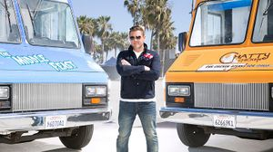 """Host Tyler Florence stars in """"The Great Food Truck Race."""""""