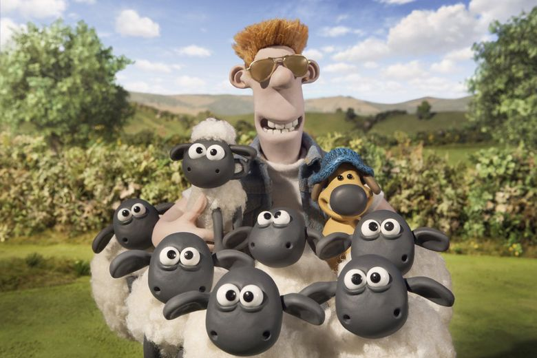 """""""Shaun the Sheep Movie"""" is playing at a discounted price at the Crest and the Gateway.  (Handout/TNS)"""
