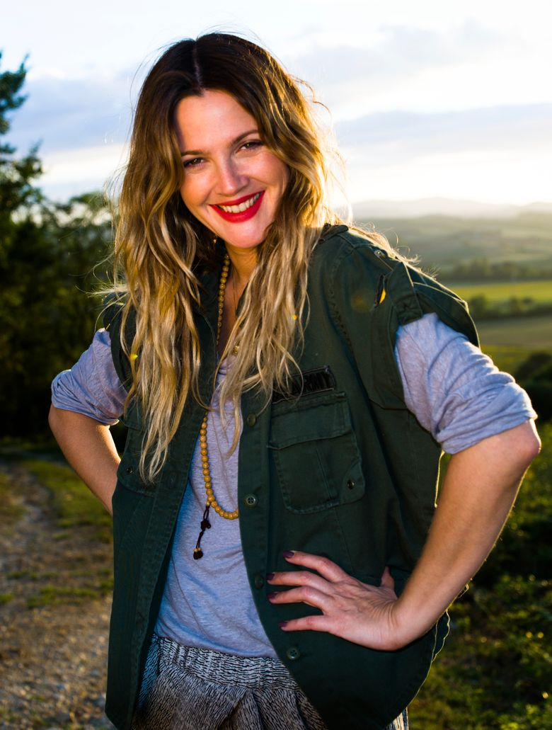 Actor Drew Barrymore, at 40, has settled into a quieter life as mom to two young daughters. (David Khinda)