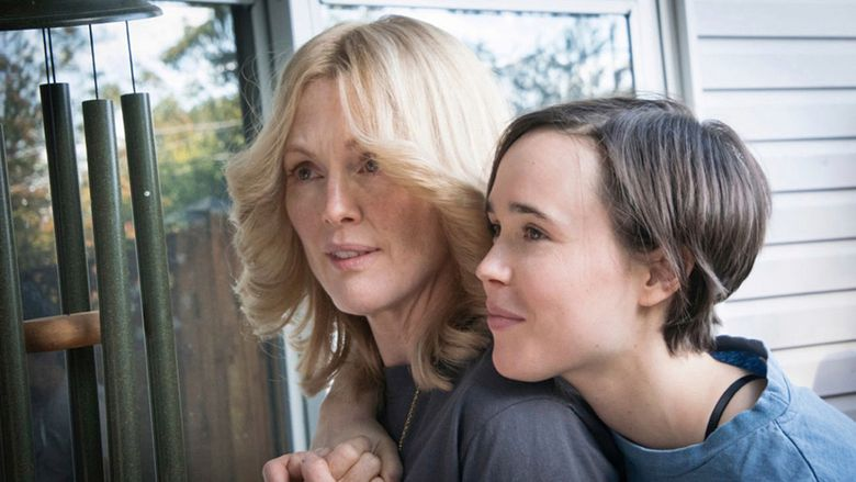 """Julianne Moore, left, and Ellen Page star in """"Freeheld,"""" the opening film at SLGFF."""