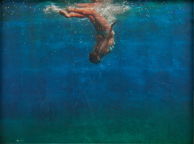 Mixed-media artist Eric Zener presents his latest work at Seattle's Foster/White Gallery.