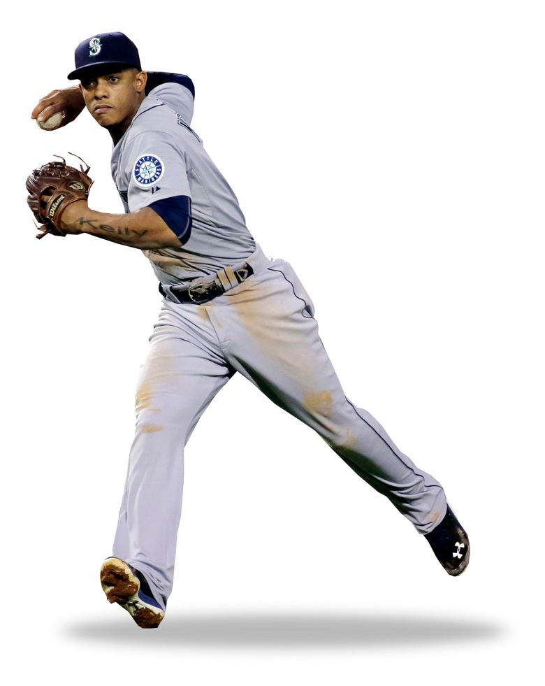 Is Ketel Marte the answer for the Mariners at shortstop in the future? That's one question for new GM Jerry Dipoto to answer in the offseason. (Chris Carlson/AP)