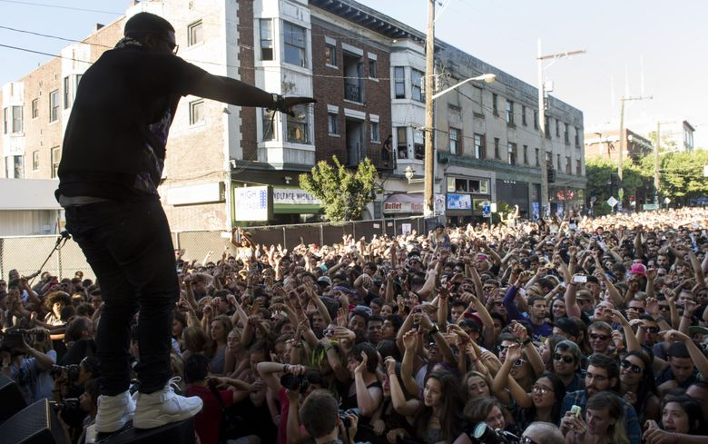 The 20th-anniversary Capitol Hill Block Party will be held July 22-24. (Madeleine Meyer)