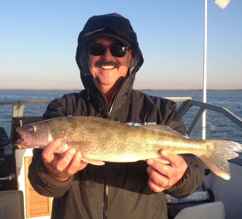 (Photo courtesy of Dave Graybill holding a nice walleye)