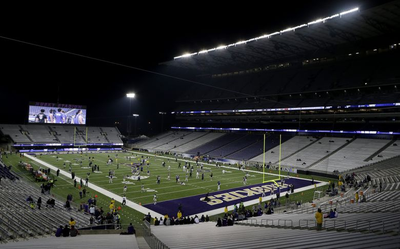 Ticket sales at Husky Stadium have fallen short of projections since the stadium's $282 million rebuild was completed in 2013. (Bettina Hansen/The Seattle Times)