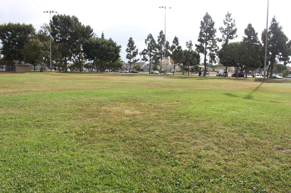The first field Richard Sherman played football on. The multi-purpose field at Athens Park in Los Angeles.