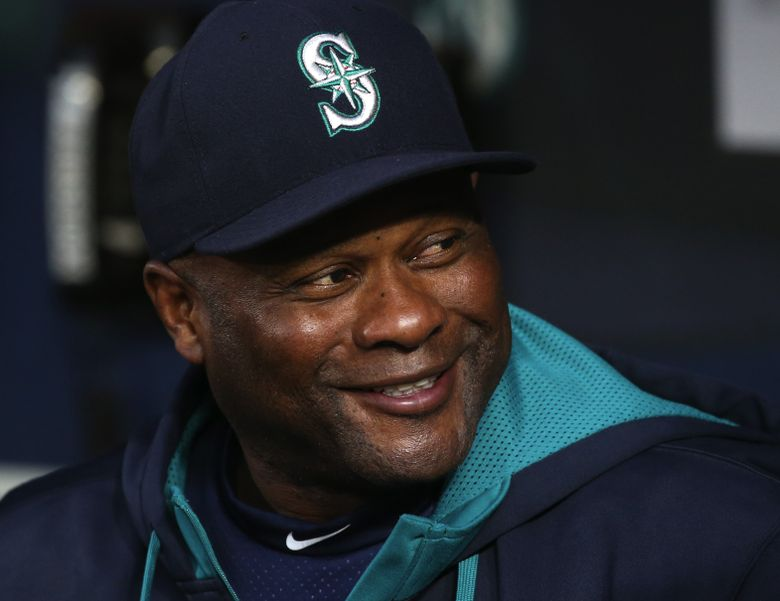 Mariners Manager Lloyd McClendon in the dugout before the start of game on Sept. 28. (Ken Lambert/The Seattle Times)