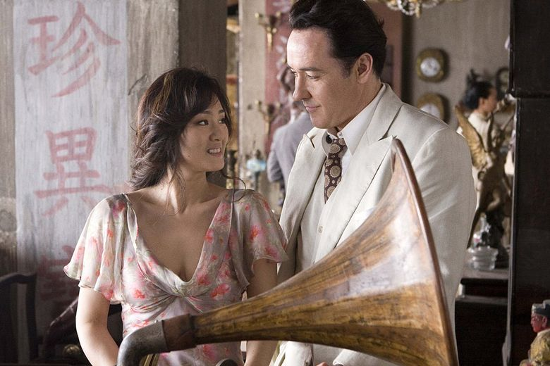 """Set in the 1940s, """"Shanghai"""" stars Gong Li as the wife of a Chinese gangster and John Cusack as an American secret agent.  (Murray Close)"""