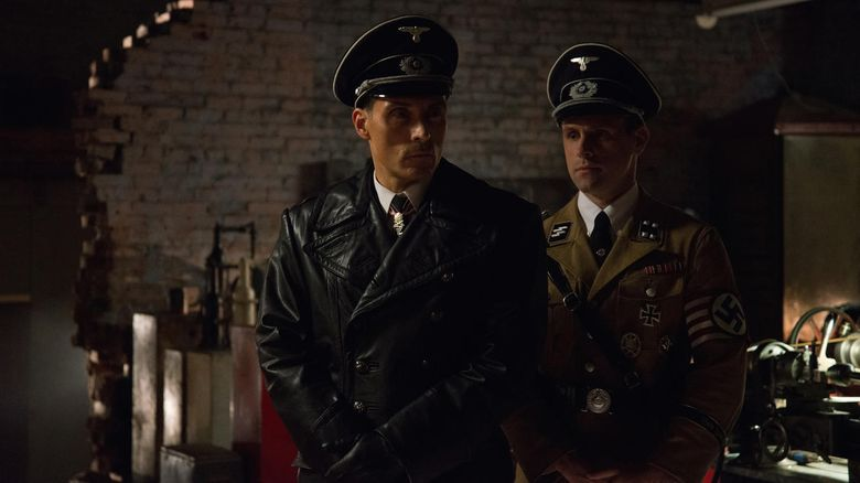 """Rufus Sewell, left, stars in the Amazon original series """"The Man in the High Castle,"""" based on the Philip K. Dick novel."""