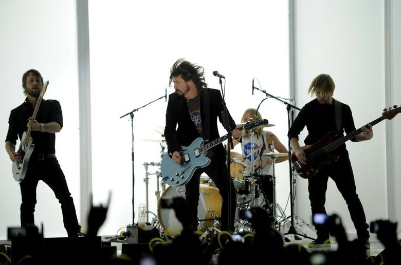 """The Foo Fighters have released a free EP, """"Saint Cecilia."""" (AP Photo/Chris Pizzello)"""