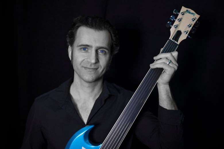 Dweezil Zappa, son of Frank, fronts tribute act Zappa Plays Zappa. The group is at the Neptune Theatre on Tuesday, Dec. 1. (Carl King)