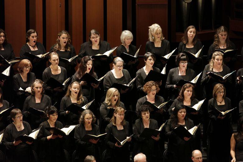 "Seattle Symphony Chorale will lend voices to the Seattle Symphony Orchestra's annual ""Messiah,"" Dec. 18-20. (Ben VanHouten/Ben VanHouten)"