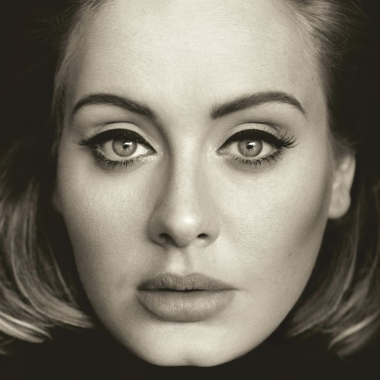 """This CD cover image released by Columbia Records shows, """"25,"""" the latest release by Adele. (Columbia Records via AP)"""