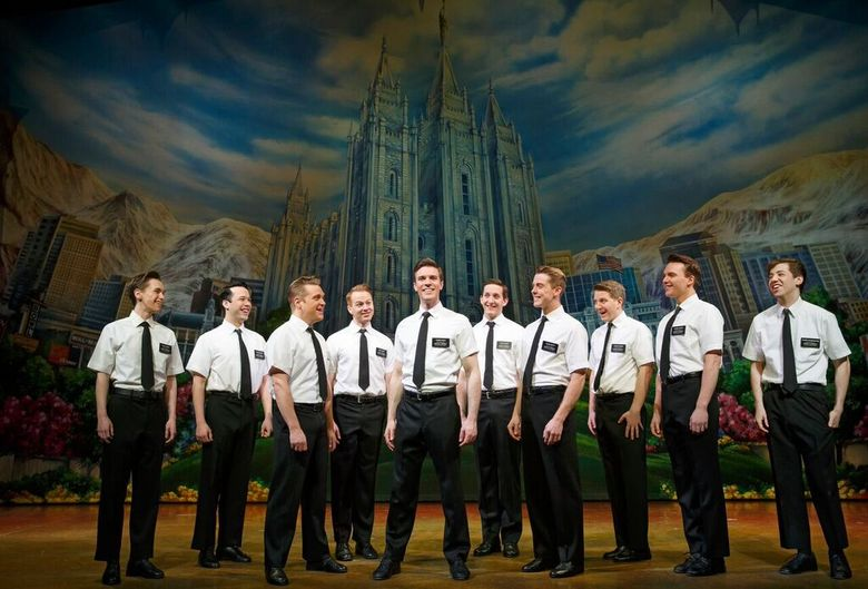 """""""The Book of Mormon,"""" takes the stage at the Paramount Theatre from Dec. 29 to Jan. 10."""