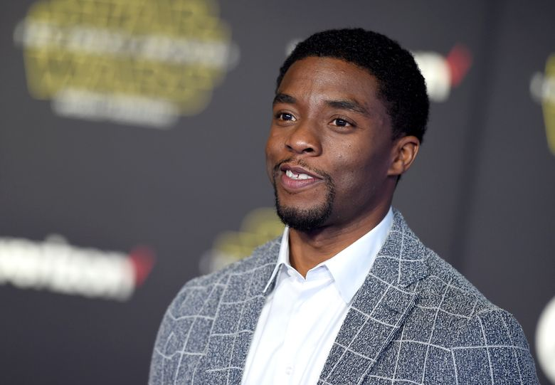 """FILE – In this Monday, Dec. 14, 2015 file photo, Chadwick Boseman arrives at the world premiere of """"Star Wars: The Force Awakens"""" at the TCL Chinese Theatre in Los Angeles. Having already played Jackie Robinson and James Brown, Boseman will tackle another icon in a courtroom thriller about Thurgood Marshall. Producers announced Wednesday, Dec. 16, 2015, that Boseman will star as the legendary attorney in """"Marshall,"""" a film to be directed by """"Django Unchained"""" producer Reginald Hudlin. (Photo by Jordan Strauss/Invision/AP, File)"""