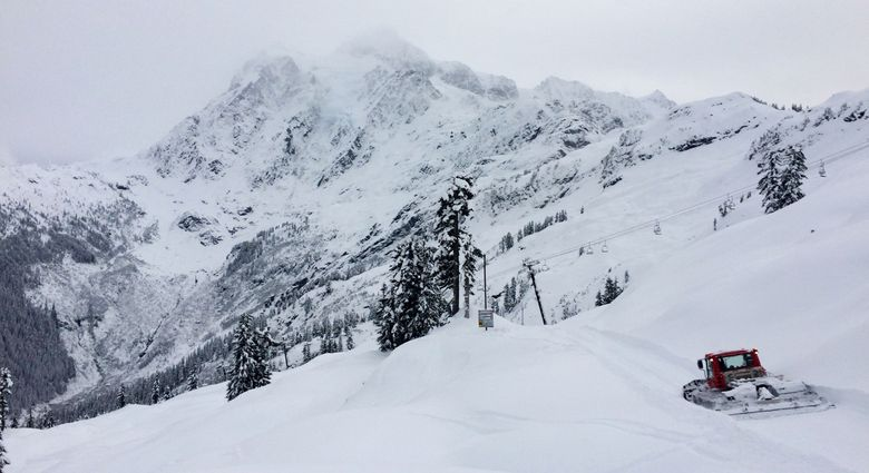 Skiers and riders have plenty of fresh untracked powder at Mount Baker. Photo courtesy of Mount Baker Ski Area.