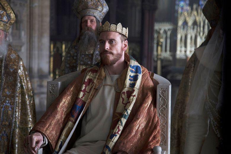 "Michael Fassbender stars as ""Macbeth."" (Jonathan Olley/AP)"