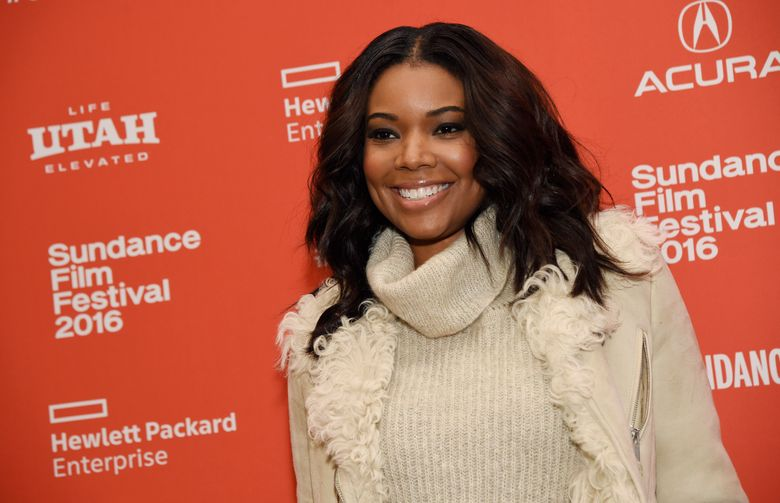 """Gabrielle Union, a cast member in """"The Birth of a Nation,"""" poses at the premiere of the film at the 2016 Sundance Film Festival on Monday, Jan. 25, 2016, in Park City, Utah. (Photo by Chris Pizzello/Invision/AP)"""