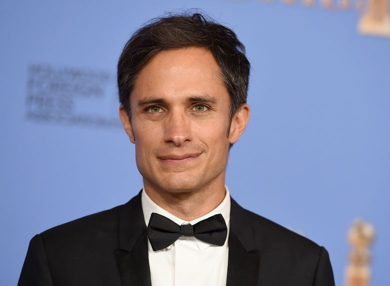 """FILE – In this Jan. 10, 2016 file photo, Gael García Bernal poses in the press room after winning the award for best actor in a television series – musical or comedy for """"Mozart in the Jungle"""" at the 73rd annual Golden Globe Awards in Beverly Hills, Calif. (Photo by Jordan Strauss/Invision/AP, File)"""
