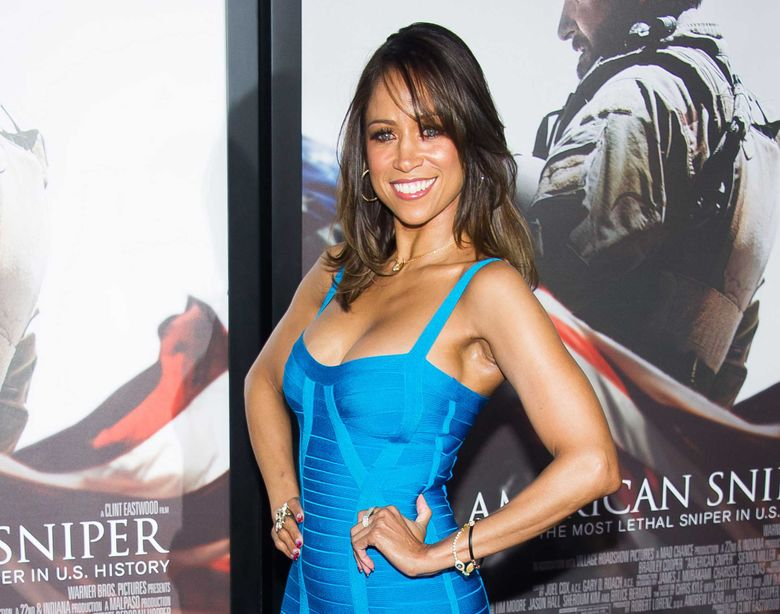 """FILE – In this Dec. 15, 2014 file photo, Stacey Dash attends the """"American Sniper"""" premiere in New York. Dash wrote on her website that BET lies to its viewers and promotes segregation. The dispute stemmed from Dash's """"Fox & Friends"""" interview on Wednesday, Jan. 20, 2016, when she was asked about the lack of black nominees for Academy Awards.The former """"Clueless"""" star said that people need to make up their minds between segregation and integration, """"and if we don't want segregation, then we need to get rid of channels like BET and the BET Awards and the (NAACP) Image Awards, where you're only rewarded if you're black.""""  (Photo by Charles Sykes/Invision/AP, File)"""