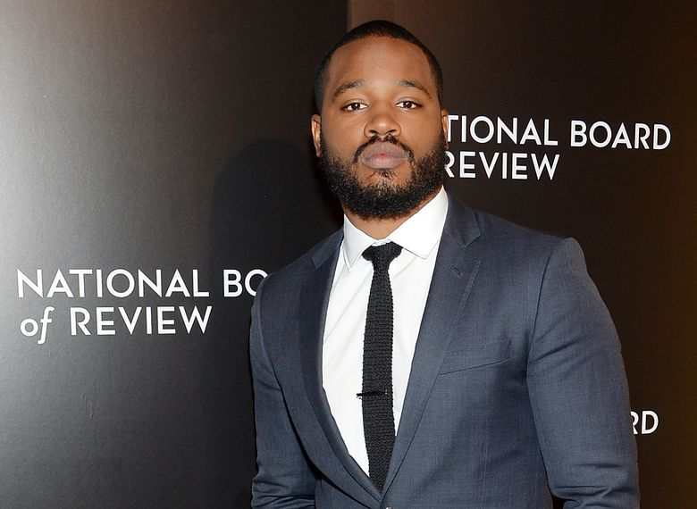 """FILE – In this Tuesday, Jan. 5, 2016 file photo, director Ryan Coogler attends The National Board of Review Gala, honoring the 2015 award winners, at Cipriani 42nd Street in New York.  """"Creed"""" helmer Coogler is set to direct Marvel and Disney's """"Black Panther"""" movie, the studio announced on Monday, Jan. 11, 2016. Chadwick Boseman has already been cast as the titular superhero.  (Photo by Evan Agostini/Invision/AP, File)"""