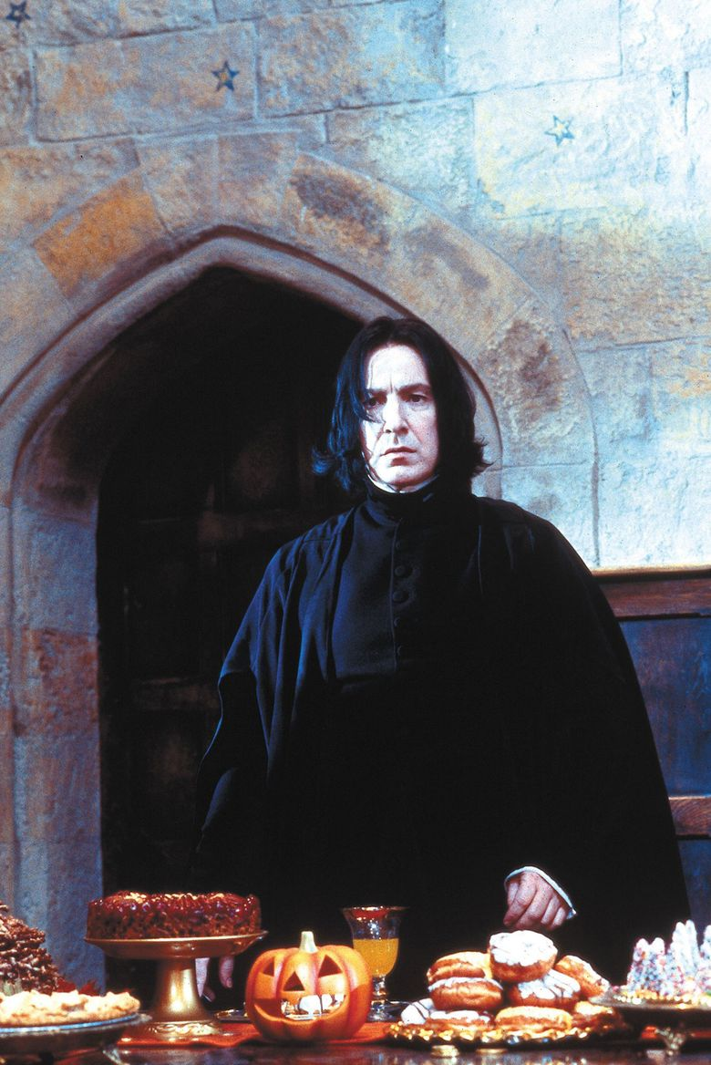 """Alan Rickman, who died at 69, played Professor Snape in eight """"Harry Potter"""" films. (Warner Bros./TNS)"""