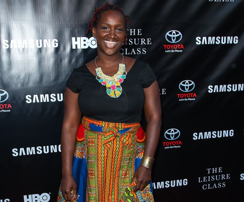 """FILE – In this Aug. 10, 2015 file photo, Effie Brown attends The Project Greenlight Season 4 premiere of """"The Leisure Class"""" at The Theatre At The Ace Hotel in Los Angeles. Women and people of color have been complicit, at some level, in taking a back seat in Hollywood. That's what film and television producer Brown told a rapt audience Monday, Jan. 25, 2016, at annual Women at Sundance brunch, saying, """"Somehow, we co-signed this. Somehow, we participated."""" (Photo by Paul A. Hebert/Invision/AP, File)"""