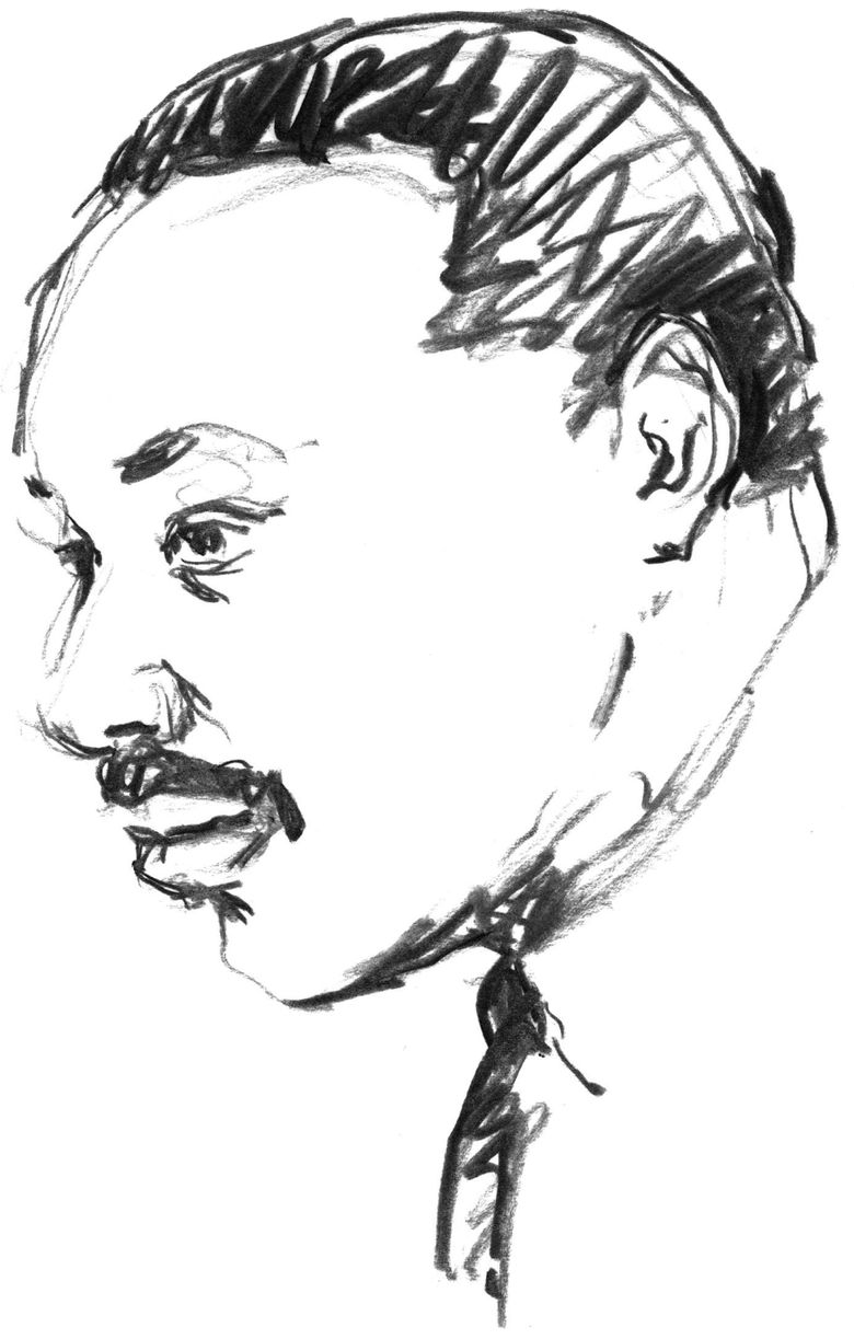 Martin Luther King Jr. (Copyright The Seattle Times Co. )