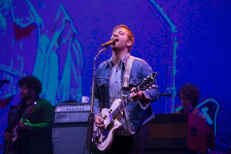 FILE – In this June 12, 2015, file photo, Dan Auerbach of The Black Keys performs at the Isle of Wight Festival in Newport, Isle of Wight, England. Special guests at this year's 2016 Rock and Roll Hall of Fame Induction Ceremony will include The Black Keys, Rob Thomas and Metallica's Lars Ulrich. (Photo by Jim Ross/Invision/AP, File)