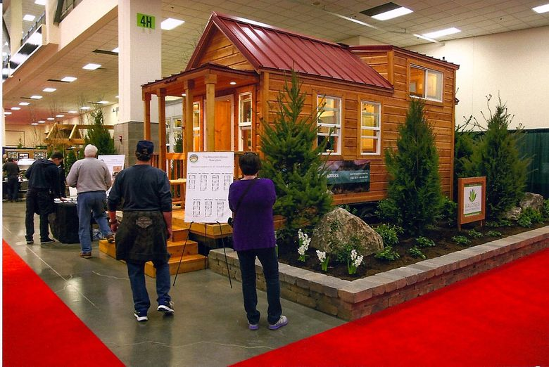Tiny houses will be among the displays at this year's Seattle Home Show, which runs through Sunday, Feb. 28. (Courtesy Seattle Home Show)