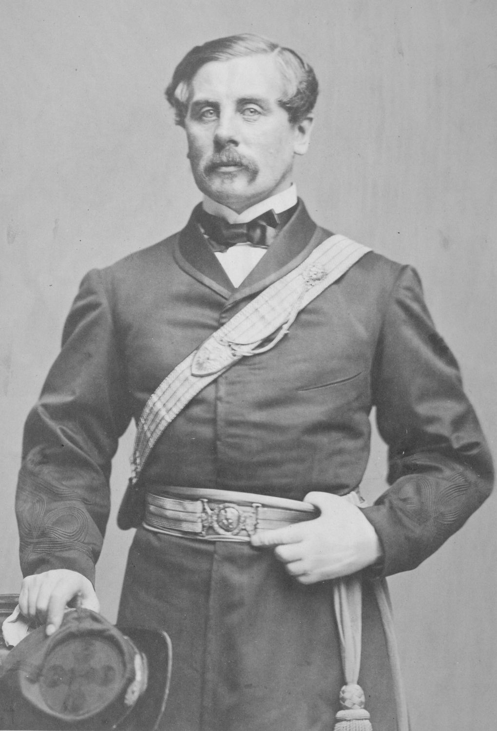 General Thomas Francis Meagher, in 1863. Hardened by war and facing criticism from fellow Irish, Meagher continued to rally his countrymen to the Union cause despite suffering heavy losses.