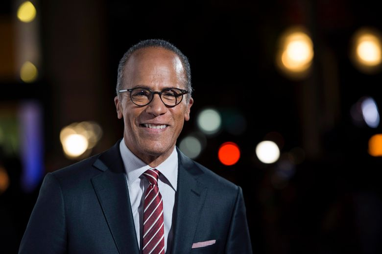 FILE – In this Oct. 28, 2015, file photo, NBC Nightly News anchor Lester Holt arrives at the 9th Annual California Hall of Fame induction ceremonies at the California Museum, in Sacramento, Calif. It's about to be a family affair at 30 Rock for NBC News anchor Lester Holt and his son, Stefan Holt, who soon will be anchoring a weekday newscast on the network's New York station, it was announced Tuesday, Feb. 16, 2016. (Jose Luis Villegas/The Sacramento Bee via AP, Pool, File)