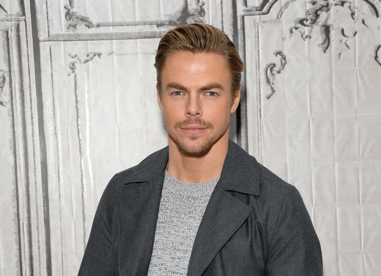 """FILE – In this Wednesday, Feb. 17, 2016 file photo, actor and dancer Derek Hough participates in AOL's BUILD Speaker Series to discuss, """"The Wonderful World of Disney: Disneyland 60"""", at AOL Studios in New York. Hough will be stepping into the dancing shoes of Gene Kelly when he tackles a stage musical of the film """"Singin' in the Rain"""" on Broadway next year. Stage and film producer Harvey Weinstein revealed the casting news at his annual pre-Oscar dinner on Saturday, Feb. 27, 2016, and The Weinstein Company confirmed the news Sunday. (Photo by Evan Agostini/Invision/AP, File)"""