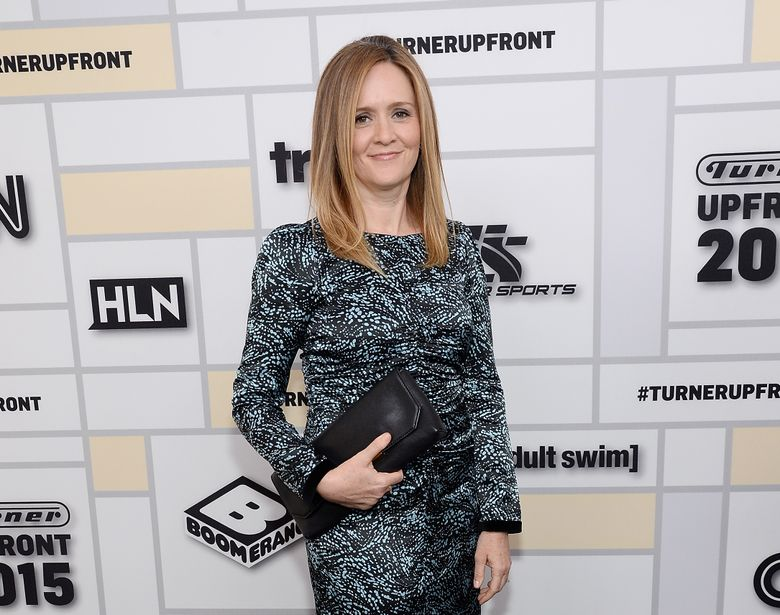 """FILE – In this May 13, 2015 file photo, Samantha Bee attends the Turner Network 2015 Upfront at Madison Square Garden in New York. The new TBS show """"Full Frontal"""" starring the former """"Daily Show"""" correspondent debuts Monday, Feb. 8, 2016. (Photo by Evan Agostini/Invision/AP, File)"""
