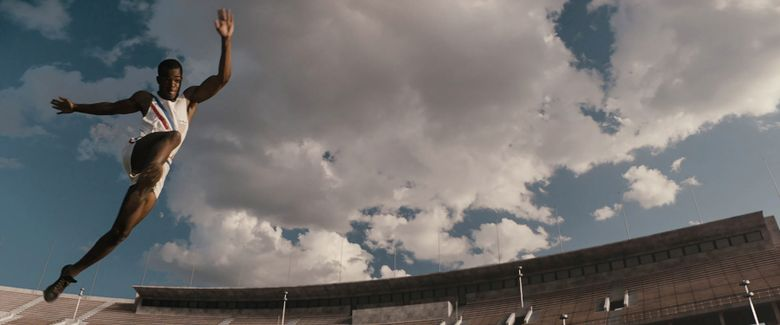 """""""Race"""" follows the story of Jesse Owens, one of the greatest American athletes in history, and his triumph at the 1936 Berlin Olympics. For showtimes, see Page H7.  (Focus Features)"""