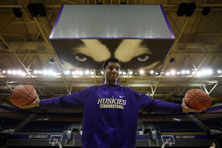 University of Washington freshman basketball forward Marquese Chriss is having a great season. (Ken Lambert/The Seattle Times)