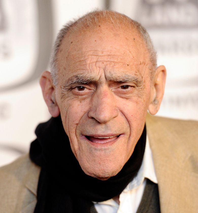 """FILE – In an April 10, 2011, file photo, actor Abe Vigoda arrives at the 2011 TV Land Awards in New York. Famously long rumored to be dead, beloved character actor Vigoda died for real in January 2016 at age 94. But the Academy of Motion Picture Arts and Sciences didn't seem to notice. In any case, it omitted Vigoda from the """"In Memoriam"""" package on Sunday, Feb. 28, 2016 during the Oscars, and his daughter is incensed. (AP Photo/Peter Kramer, File)"""