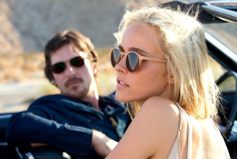 "Christian Bale plays a wandering screenwriter in ""Knight of Cups,"" co-starring <br/>Isabel Lucas. (Melinda Sue Gordon/Melinda Sue Gordon)"