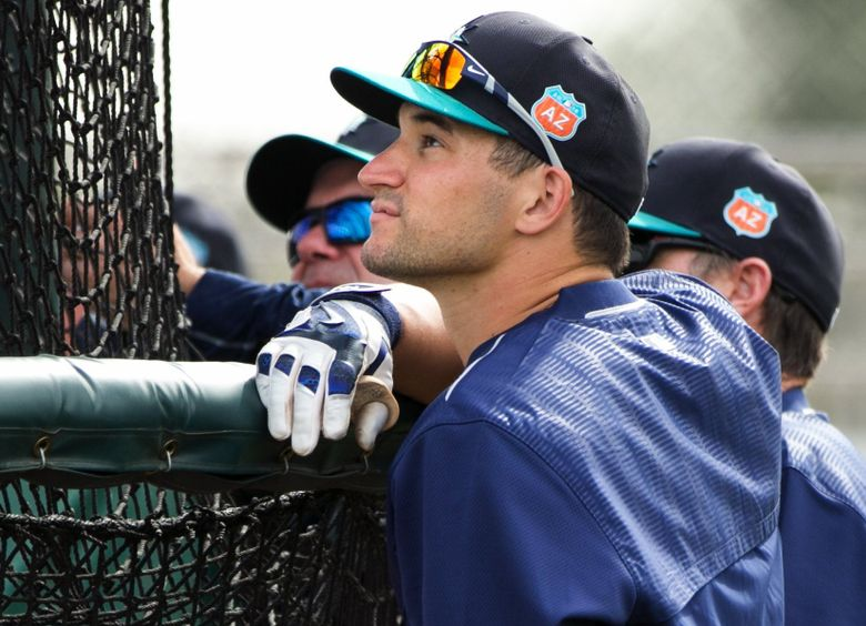 Catcher Mike Zunino had a strong spring training in 2015, but it did not carry over into the regular season. (Bettina Hansen/The Seattle Times)